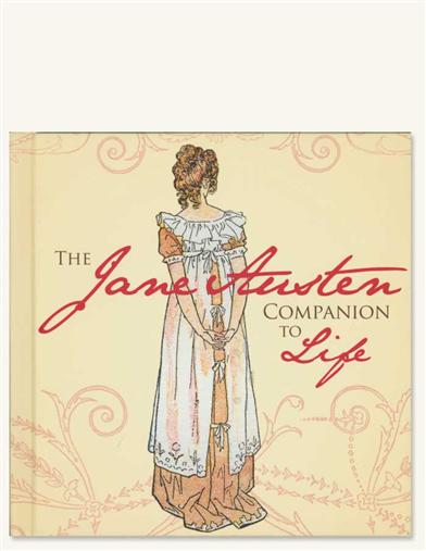 THE JANE AUSTEN  COMPANION TO LIFE BOOK