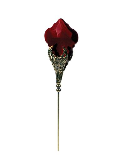 RUBY SPEAR HATPIN
