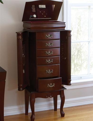 CLASSIC JEWELRY ARMOIRE