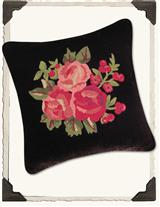 BLACK NOSTALGIC CUSHION