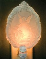 GUARDIAN ANGEL LITHOPHANE NIGHTLIGHT