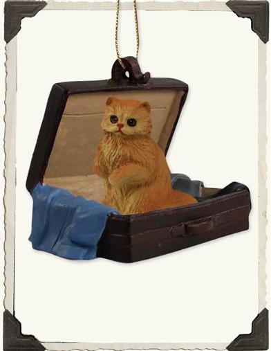 TRAVEL COMPANION ORNAMENT (CAT)