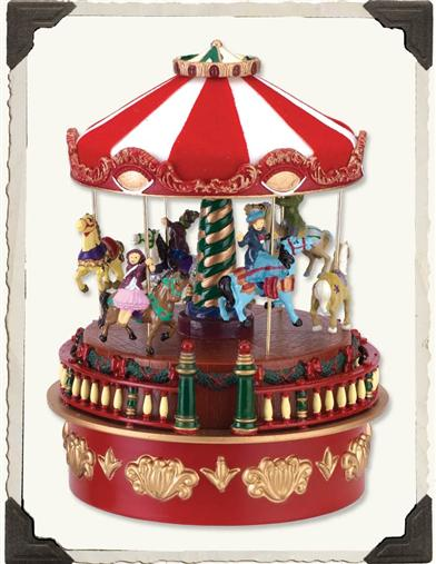 CALLIOPE CAROUSEL MUSIC BOX