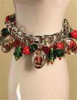 HAPPY HOLLY DAYS CHARM BRACELET