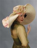 LOUISE GREEN PERSEPHONE HAT