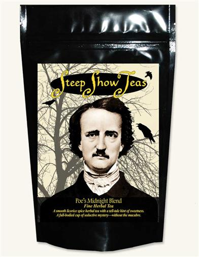 POE'S MIDNIGHT BLEND STEEP SHOW TEA