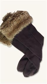 WELLIE WARMERS (FAUX FUR)