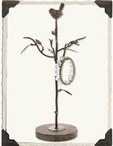 WOODLAND WREN JEWELRY TREE