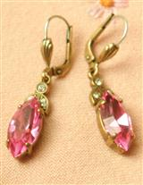 ROSE LAVALIER EARRINGS