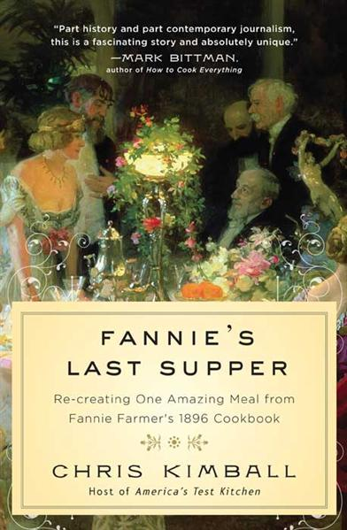 FANNIES LAST SUPPER BOOK