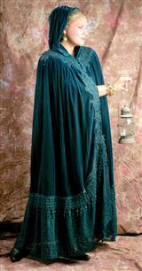 WUTHERING HEIGHTS CLOAK (TEAL)