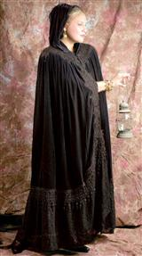 WUTHERING HEIGHTS CLOAK (BLACK)