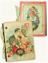 VICTORIAN SCRAP NOTEBOOK & PHOTO ALBUM