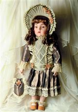 ANTIQUE REPLICA DOLL (SIGRID)