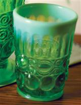 EYE WINKER OPAL GLASS TUMBLER