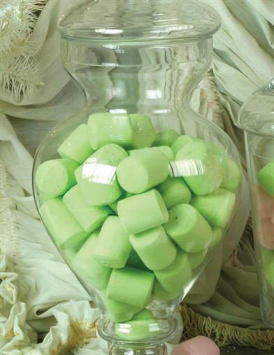 FAUX MARSHMALLOWS (GREEN)