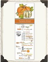MARY LAKE-THOMPSON PUMPKIN BREAD RECIPE TOWEL