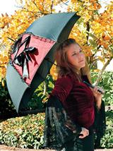 Miss Kitty's Corset Umbrella