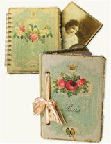 PARIS NOTEBOOK & PHOTOGRAPH ALBUM