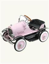 DELUXE PINK PEDAL CAR