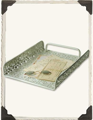 METAL LACE TRAY