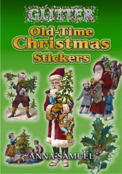 OLD TIME CHRISTMAS STICKERS - 8 BOOKLETS