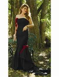 Rouge Roses Gown