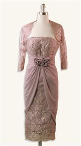 DUSTED VIOLETTE DRESS