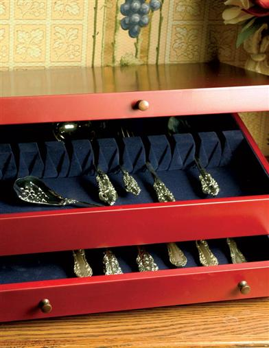 CUTLERY CABINET