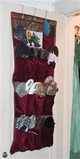 VELVET SHOE CADDY