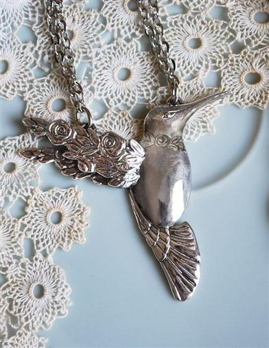 HUMMINGBIRD SPOON PENDANT