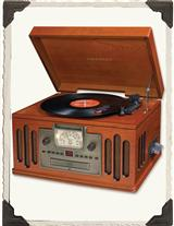 NOSTALGIC RECORD PLAYER