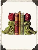 HOLLANDS ROSES BOOKENDS                         IA