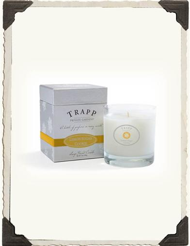 TRAPP HOLIDAY CANDLE (LEMON SUGAR COOKIE)