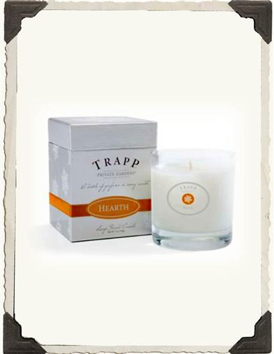 TRAPP HOLIDAY CANDLE (HEARTH)