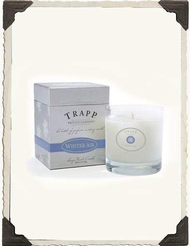 TRAPP HOLIDAY CANDLE (WINTER AIR)