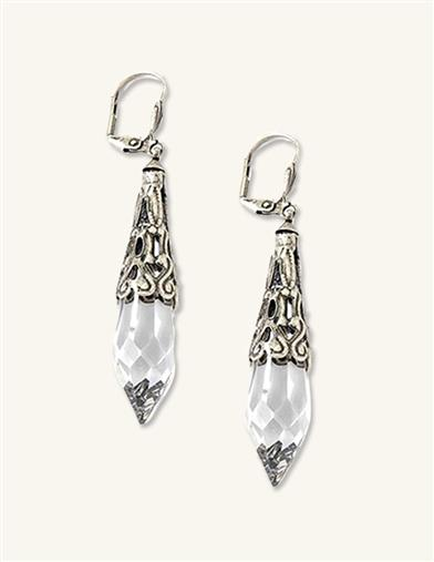 ICED CRYSTAL JEWELS EARRINGS