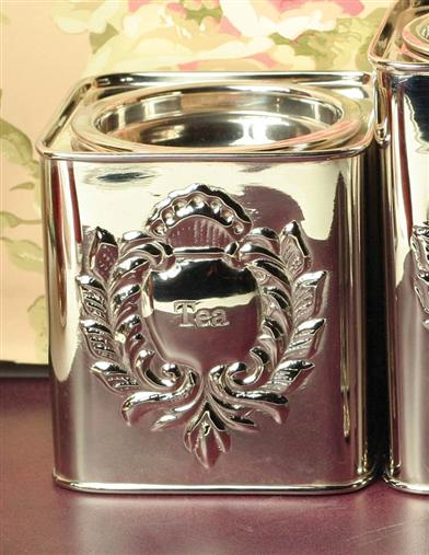ENGLISH TEA CANISTER