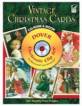 Vintage Christmas Card Cd Book