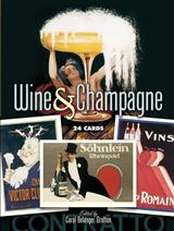 VINTAGE WINE POSTER ART POSTCARDS BOOK