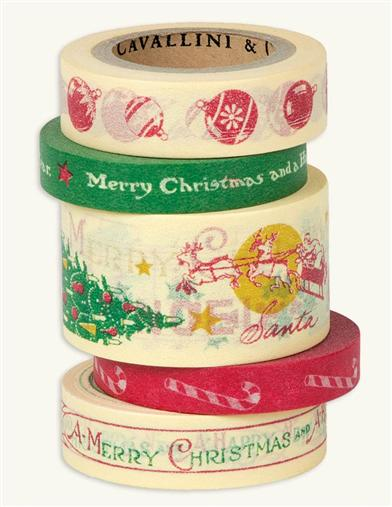 Nostalgic Christmas Tape In A Tin