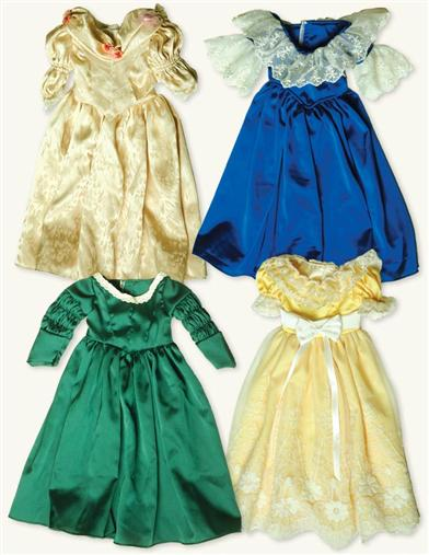 YOUNG VICTORIA'S HISTORICAL DRESS COLLECTION