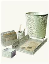 METAL LACE DESK ACCESSORIES SET