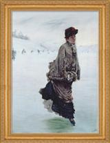 THE SKATER FRAMED PRINT