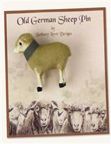 OLD GERMAN SHEEP PIN