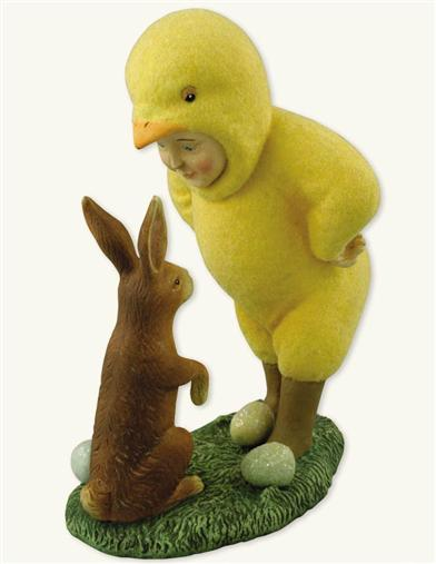 ...SAID CHICK TO MR. RABBIT