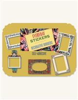 VINTAGE SCRAP BORDERS STICKERS