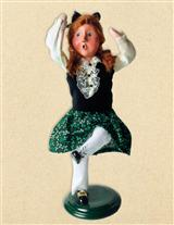 BYERS' CHOICE COLLEEN THE IRISH STEP DANCER