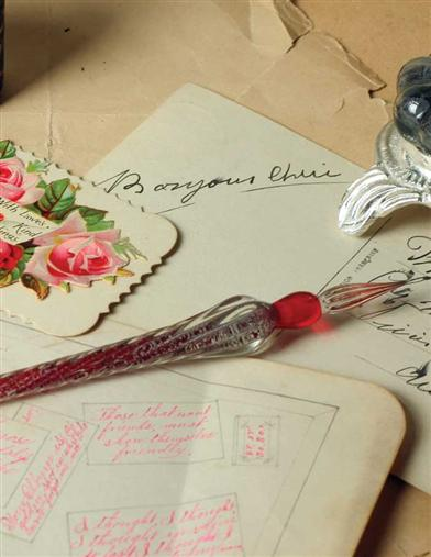 HAND-BLOWN VENETIAN GLASS DIPPING PEN