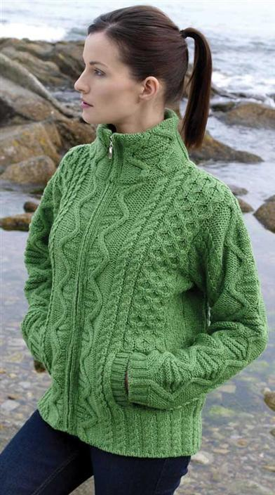 Your Life's Story Aran Sweater